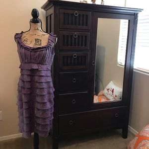 Shimmering Purple London Times Dress